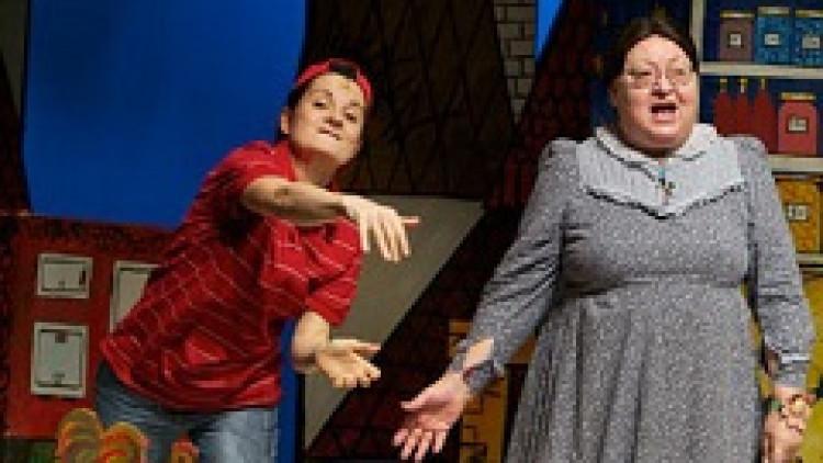 Szupernagyis, macskás, kisfiús, jól szórakozós | Bors néni / Kolibri Színház