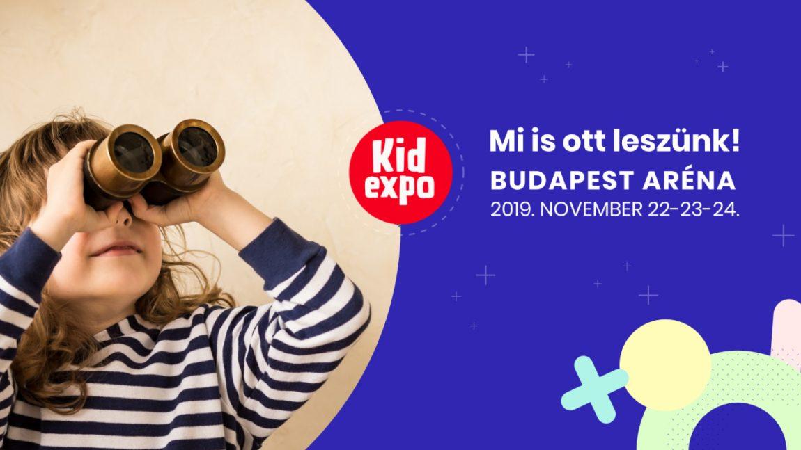 KidExpo november 22-24 között a Budapest Sportarénában